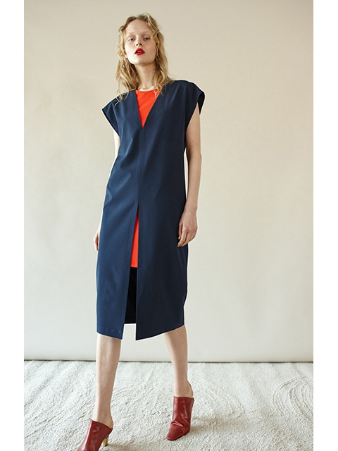 DOUBLE DRESS- NAVY