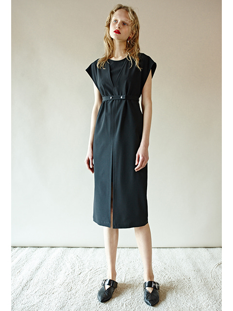 DOUBLE DRESS- BLACK