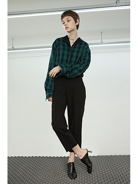 POCKET SIGNATURE PANTS - BLACK