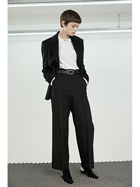 WIDE PANTS- BLACK