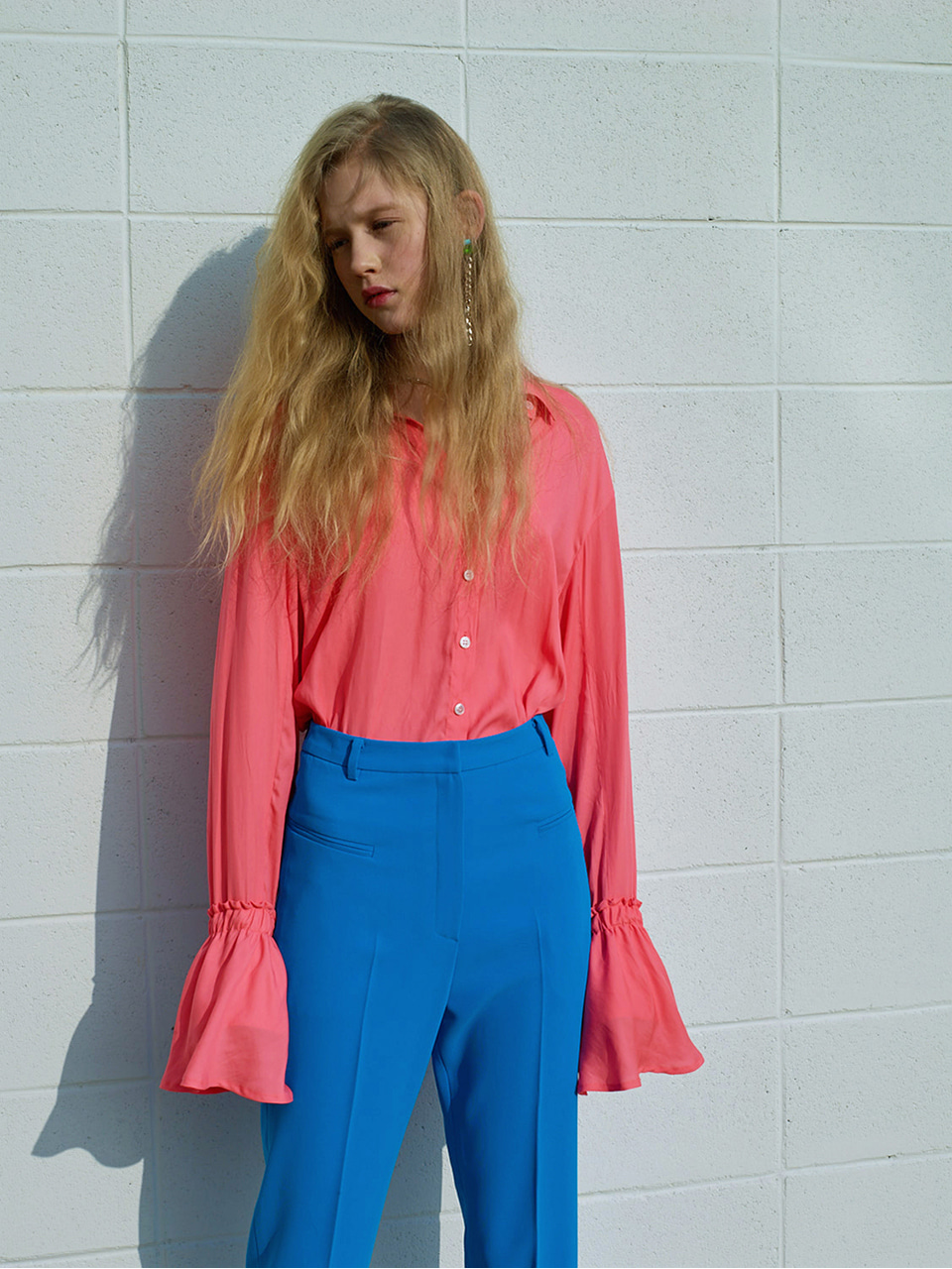 TRUMPET BLOUSE - PINK